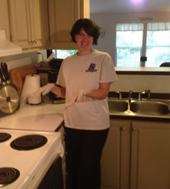 Amy of Spokane house cleaning